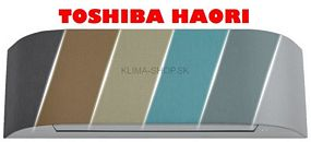 Novinka - Klimatizácia Toshiba Haori