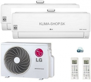 Klimatizácia LG Air Purification multisplit 2x 2,5 kW + vonk.j. 4,1kW