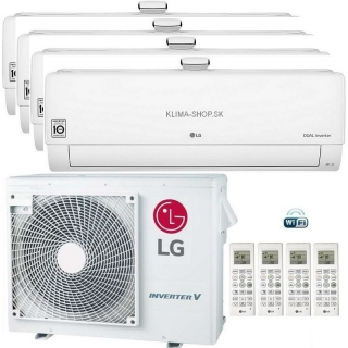 Klimatizácia LG Air Purification multisplit 4x 2,6 kW + vonk.j. 7kW